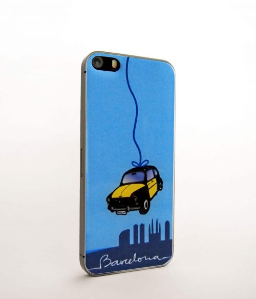 Taxi Color iPhone Sticker