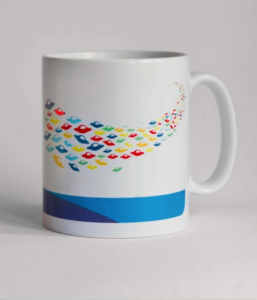 White Invasió Mug
