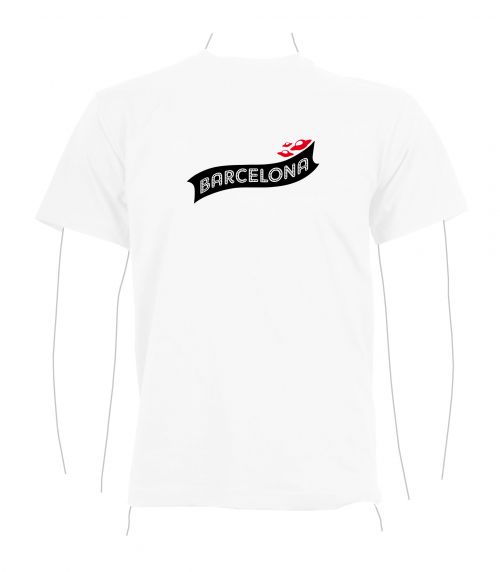BCN T-Shirt white