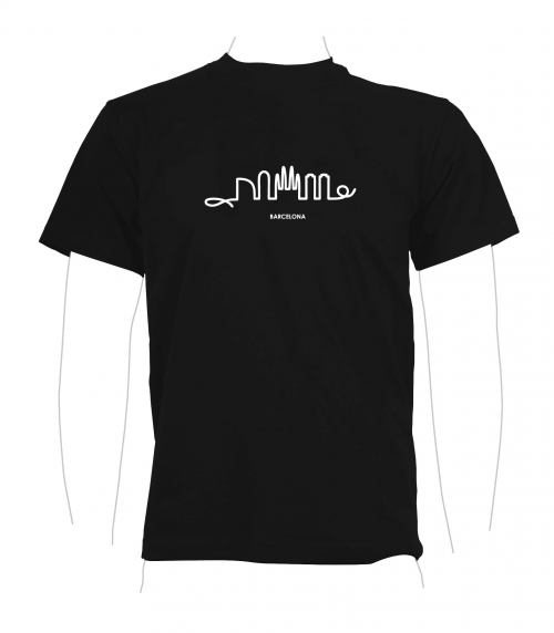 Skyline T-Shirt black