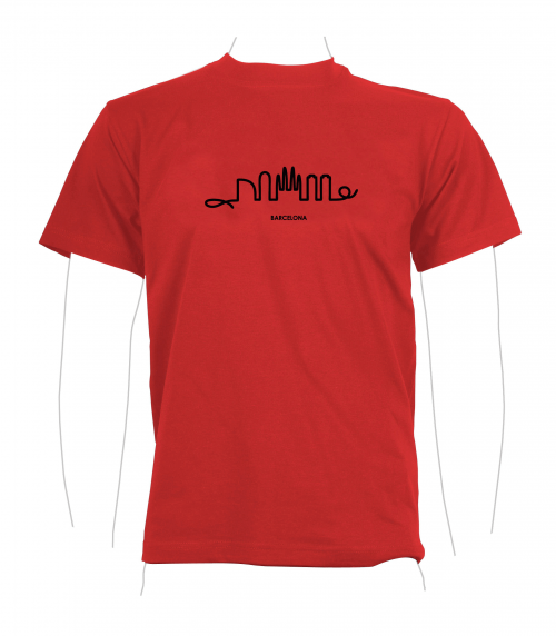 Skyline T-Shirt red