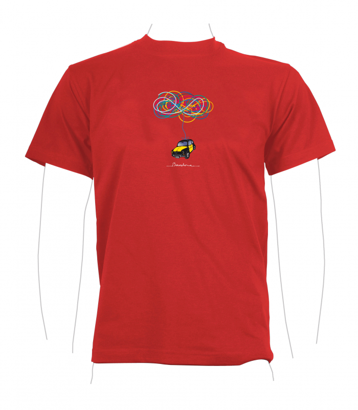 Taxi T-Shirt red