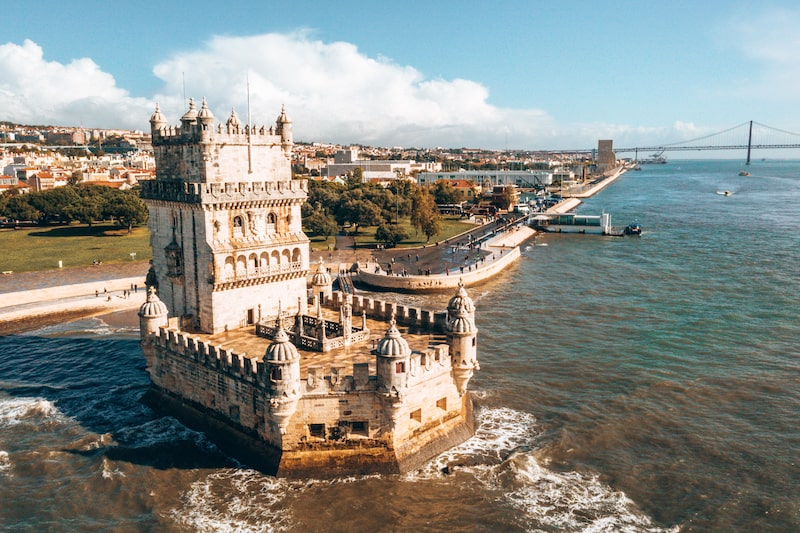 belem tower waterfront view-min